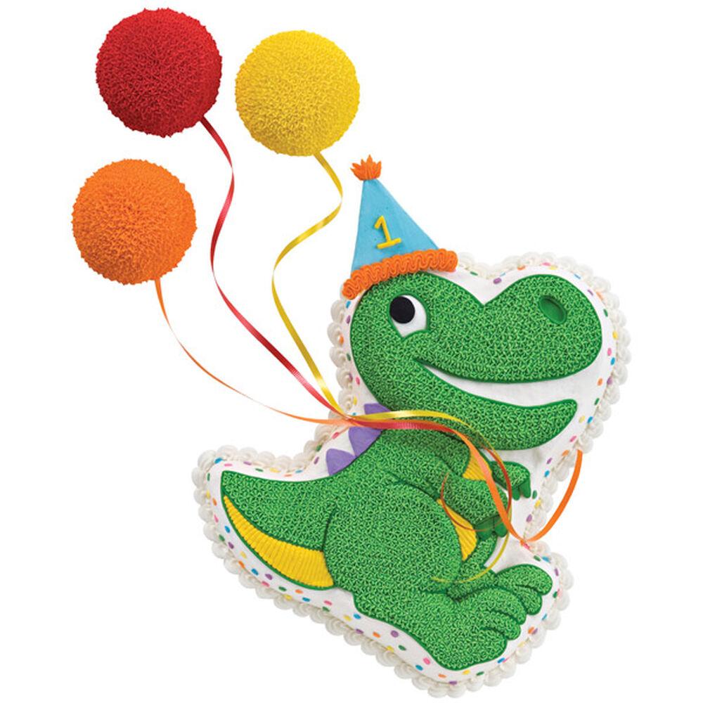 Dino Celebrates The 1st Birthday Cake Wilton