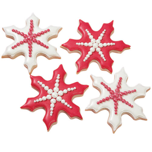 Stand-out Snowflake Cookies