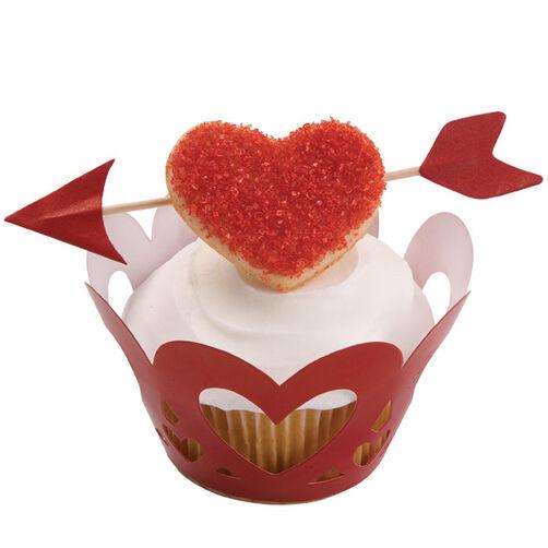 An Arrow for Your Beau Cupcake