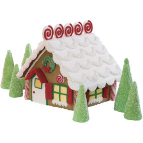 Curls & Swirls Classic Gingerbread House