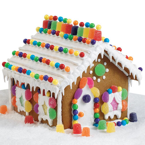 Holiday Spectacular Gingerbread House