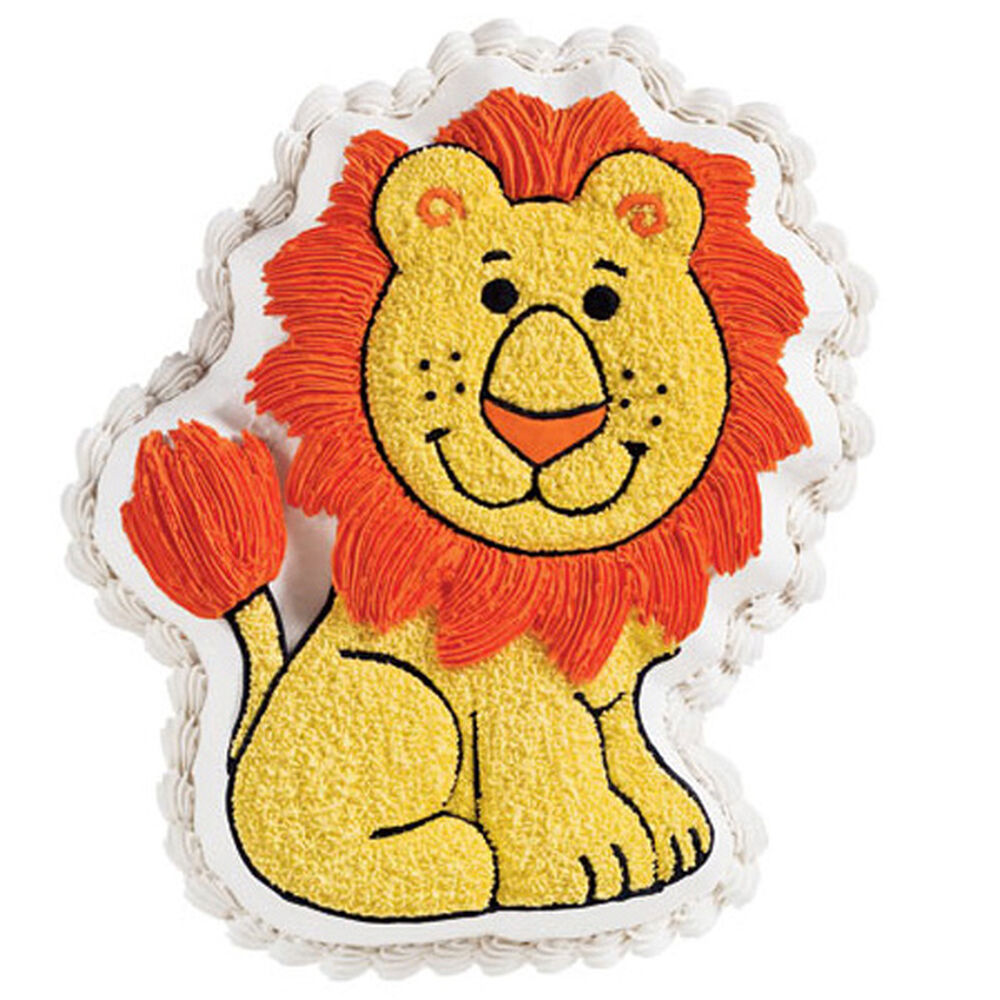 Wilton Lion Cake Pan Instructions