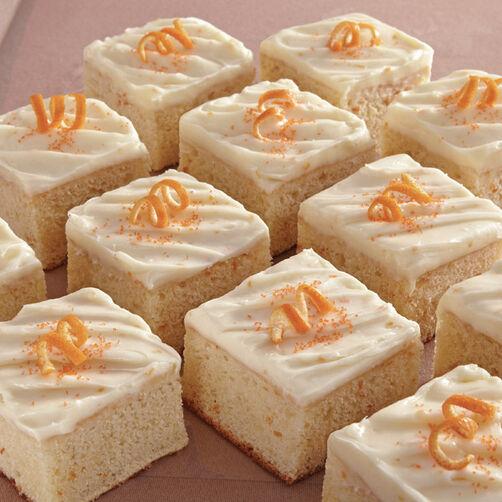 Cake Decorating Frosting Recipe Cream Cheese : Orange Sheet Cake with Orange Cream Cheese Icing Recipe ...