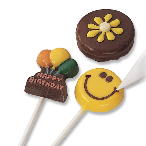 How to Add Color Details to Candy Lollipops