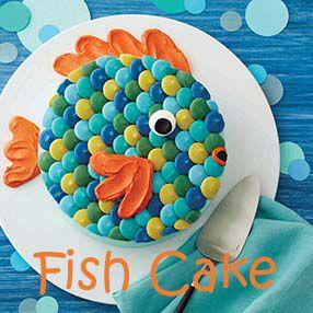 Kids Fish Cake