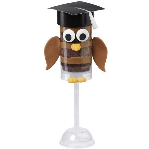 Who-Who is a Top Grad? Owl Treat Pops