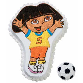 Dora Kicks Into High Gear! Cake