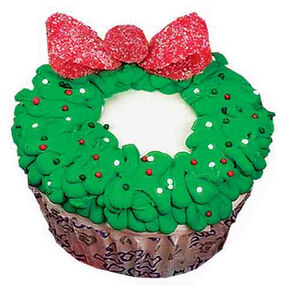 Wreath Reward Cupcakes