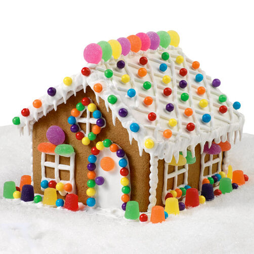 Gumdrop Cottage Gingerbread House
