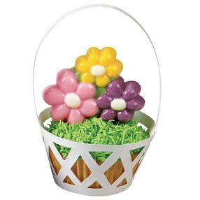 Floral Basket Cupcakes