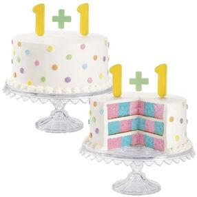 1 plus 1 = TWINS! Cake
