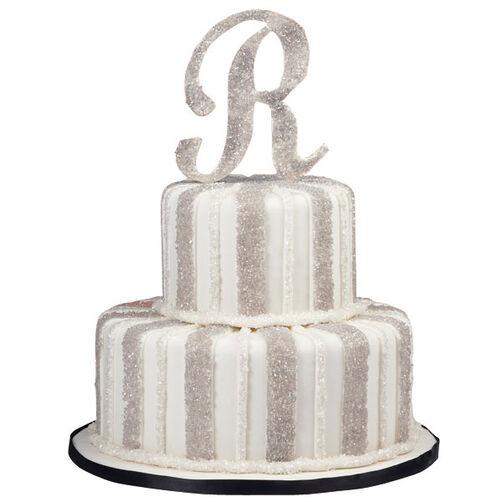 Silver Shimmer Cake