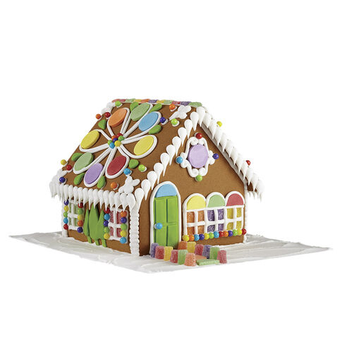 wilton gingerbread house kit instructions