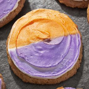 Half & Half Halloween Color Mist Cookies