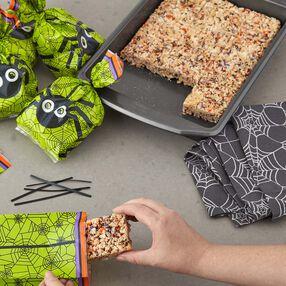 Jimmies N' Sprinkles Halloween Cripsy Rice Cereal Treats