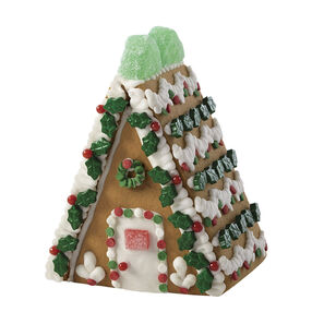 Holiday Fun Mini Gingerbread Village A-Frame House