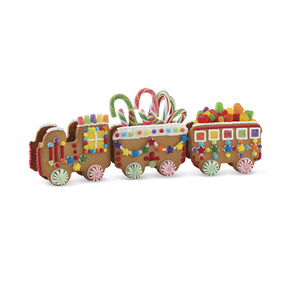 Christmas Express Gingerbread Train Engine