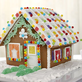 Cute Gingerbread House #1