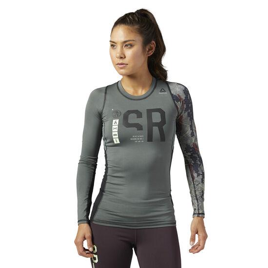 Reebok - Reebok Spartan Race Long Sleeve Compression Shirt Ironstone BR2099