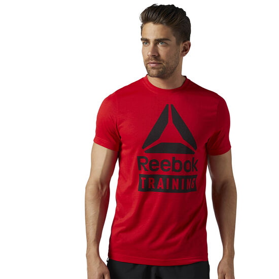Reebok - Спортивная футболка Training Speedwick PRIMAL RED S17-R BR5559