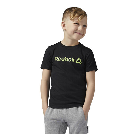 Reebok - Boys Essentials Tee Black BQ7675