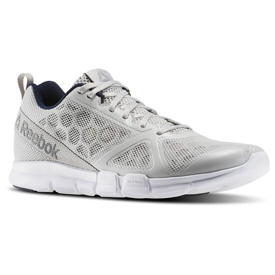 Reebok - Zapatillas de Training Hexalite TR STEEL/WHITE/COLLEGIATE NAVY BD5084
