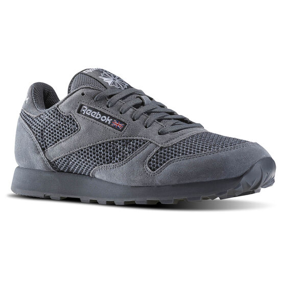 Reebok - Classic Leather & Knitted Alloy/White BD1649