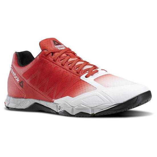 Reebok - Reebok CrossFit Speed TR Can-White/Riot Red/Steel/Black AR3734