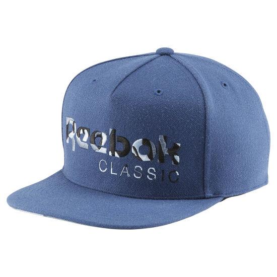 Reebok - Boné Classics Camo BRAVE BLUE BJ9151