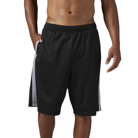 Reebok - Men's Mesh Basketball 9-inch Short Black BR3154
