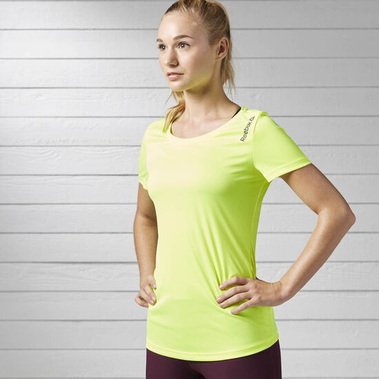 Reebok - Camiseta Run B SOLAR YELLOW S98899