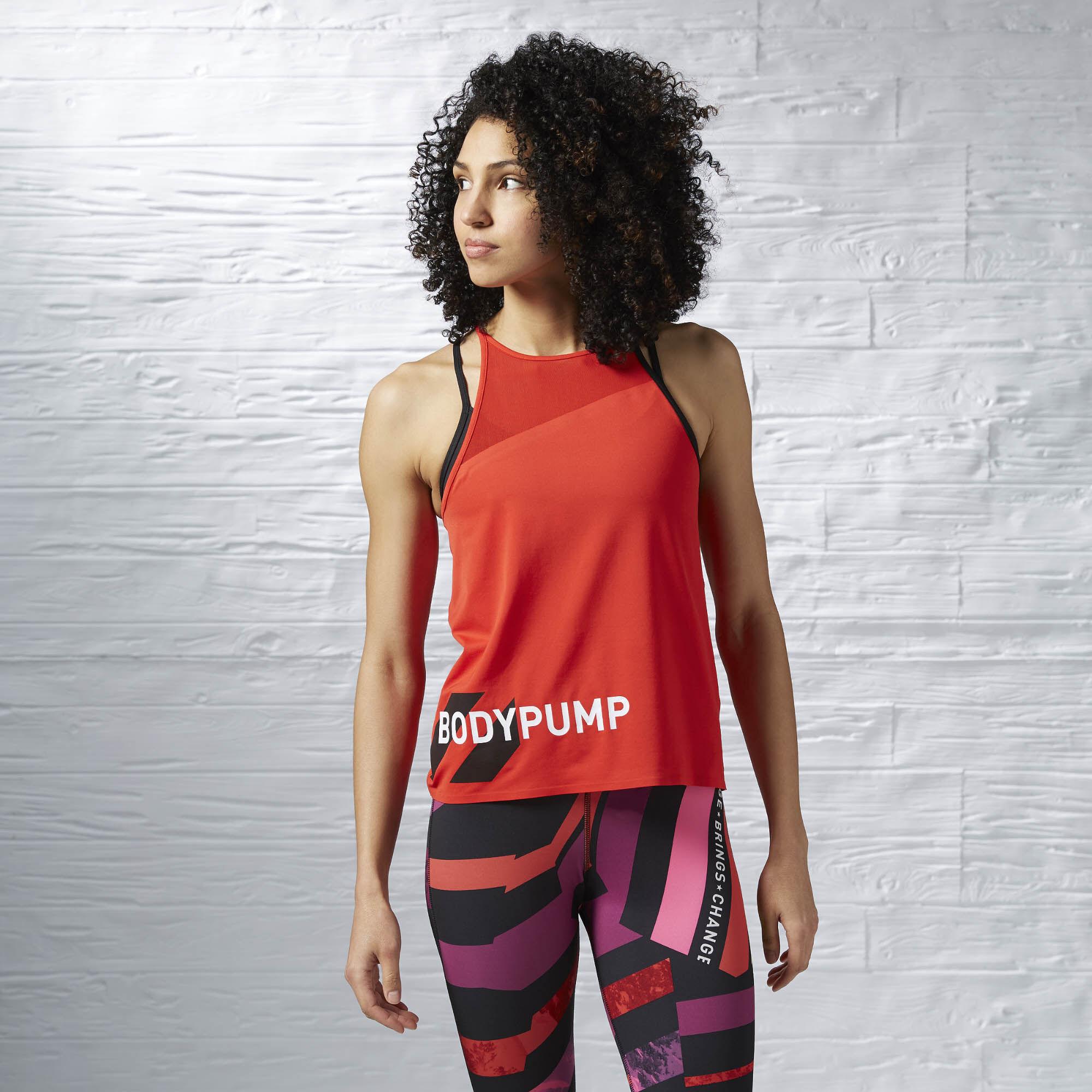 les mills body pump reebok clothing
