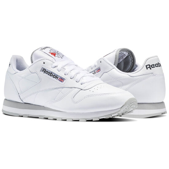 Reebok - Classic Leather White/Grey 2214