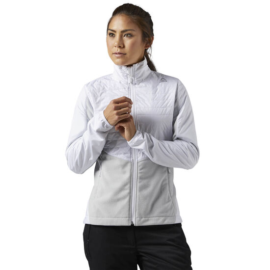 Reebok - Outdoor Combed Fleece Jacket White S96421