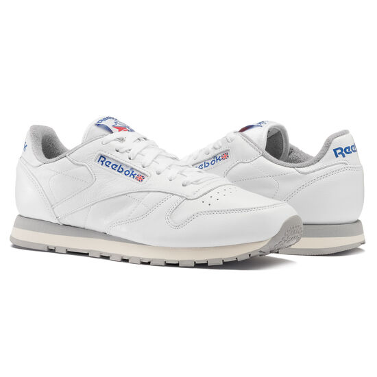 Reebok - Classic Leather R12 White/Tin Grey/Sandtrap/Reebok Royal M42845