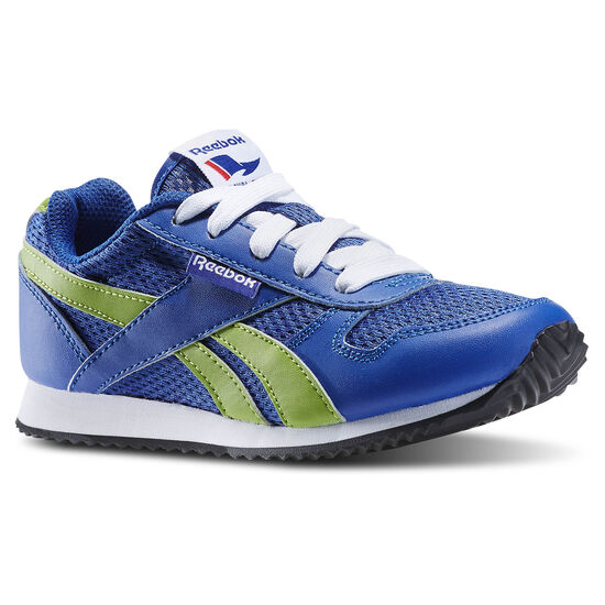 Reebok - Classic Jogger - Youth/Children reebok royal/ultra lime/white/black M47232