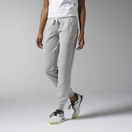Reebok - Elements French Terry Cuffed Pant Medium Grey Heather AJ2788