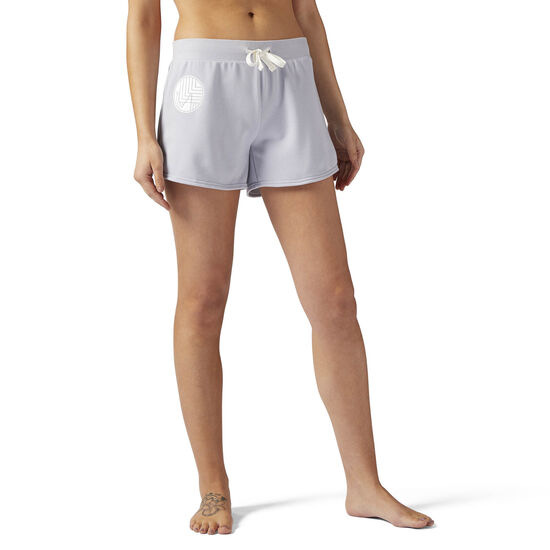 Reebok - LES MILLS French Terry 10 cms Shorts CloGrey CE6700