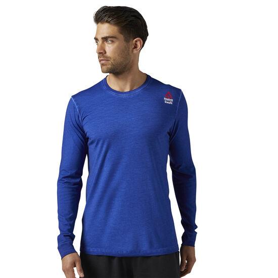 Reebok - Reebok CrossFit Long Sleeve Shirt Deep Cobalt BR4688