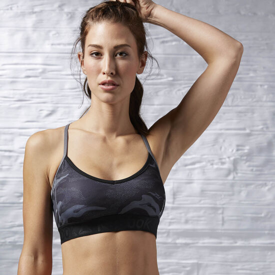 Reebok - Workout Ready Skinny Bra Black AJ3337