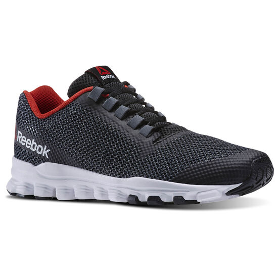 Reebok - Hexaffect Storm Black/White/Tin Grey/Gravel/Motor Red/Alloy V71858