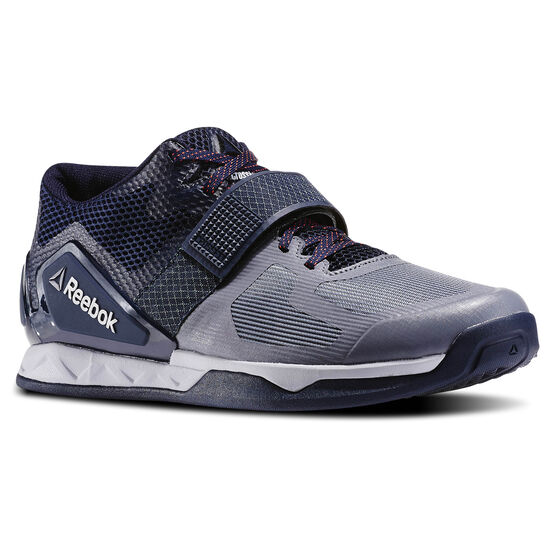 Reebok - Hommes Reebok CrossFit Transition LFT Asteroid Dust/Atm Red/Coll Nvy/Cld Grey/Pwtr AR3203