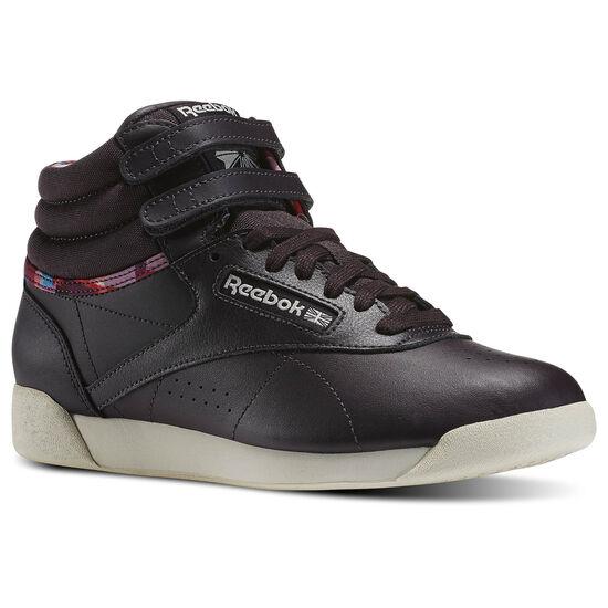 Reebok - Freestyle Hi Geo Black M49110