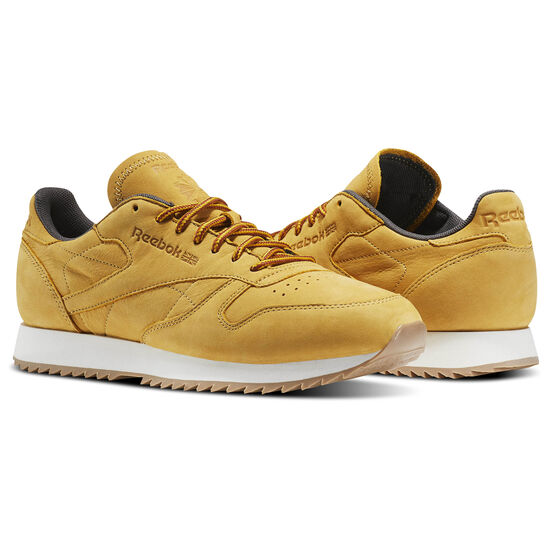 Reebok - Classic Leather Ripple WP Golden Wheat/Urban Grey/Chalk BS5204