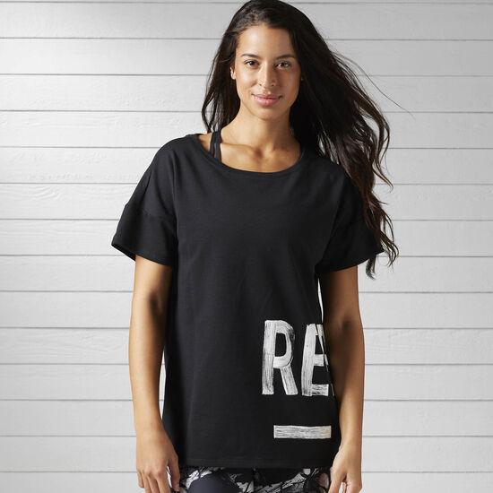 Reebok - Camiseta S Faves Black BJ9718