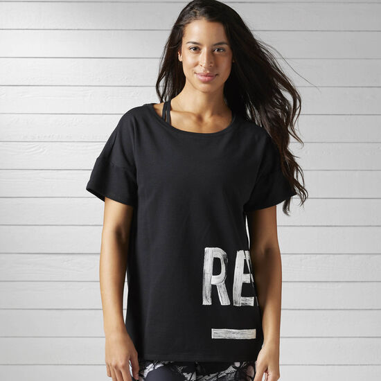 Reebok - Спортивная футболка Studio Favorites BLACK BJ9718