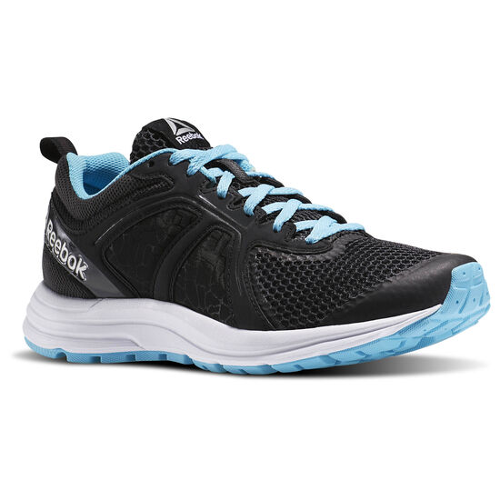 Reebok - Zapatillas de Running Zone Cushrun 2.0 coal/black/white/crisp blue AR2458