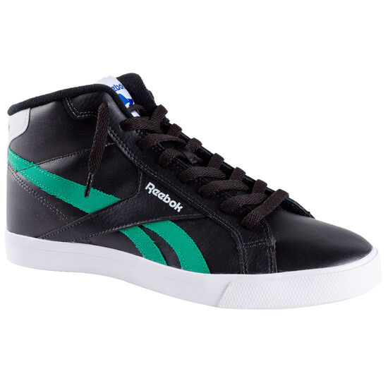 Reebok - Zapatillas Classic Royal Complete Mid black/basil green/white V70728