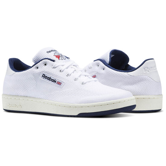 Reebok - Club C 85 OG Ultraknit White/Classic White/Collegiate Navy BS5270