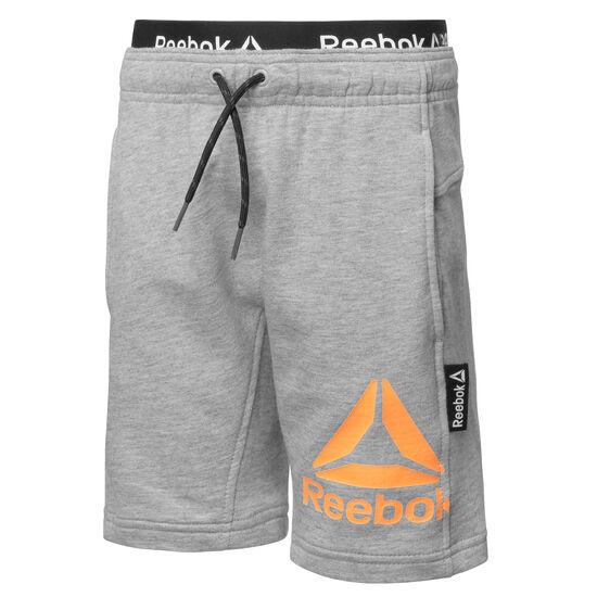 Reebok - Boys Essentials French Terry Short Medium Grey Heather BK4237